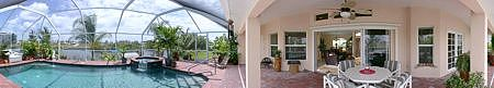 Immobilien BEST BUY!  Elegant 3/2/2 Waterfront Pool Home - Loaded W/Upgrades in Cape Coral