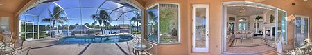 Immobilien Stunning Sailboat Access Home!! in Cape Coral