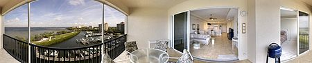 Immobilien 3 Bedroom, Furnished Penthouse on the River in Ft. Myers