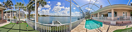 Immobilien Freshwater ski lake views with direct Gulf access  in Ft. Myers