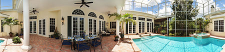 Immobilien Elegant Southern Colonial In Prestigious St Charles Harbour Yacht Club. in Ft. Myers