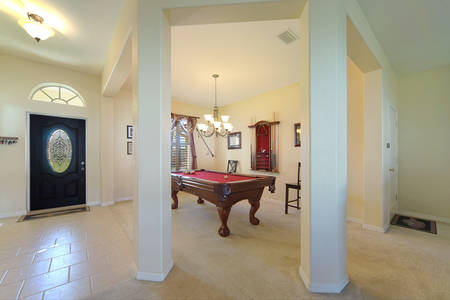 Slideshow of vacation rental property Beautiful home with ample room for raising a family! Plenty of room for a pool. in Cape Coral