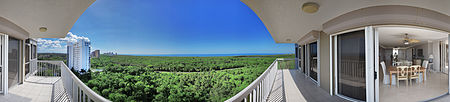 Immobilien St Marissa in Pelican Bay - 11th floor 3 BR 2.5 BA  in Naples