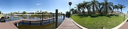 Villa KEY WEST - with billiard, boat dock and bicycles