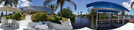 Villa Summer Breeze  - south west of Cape Coral with boat dock