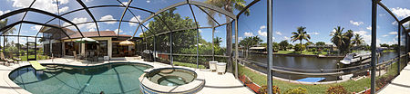 Immobilien Gulf Access Waterfront Unique 2 story 4 bedroom, 3 bath in Cape Coral