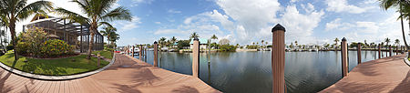 Immobilien Exceptional waterfront home, bring your yacht! in Ft. Myers Beach